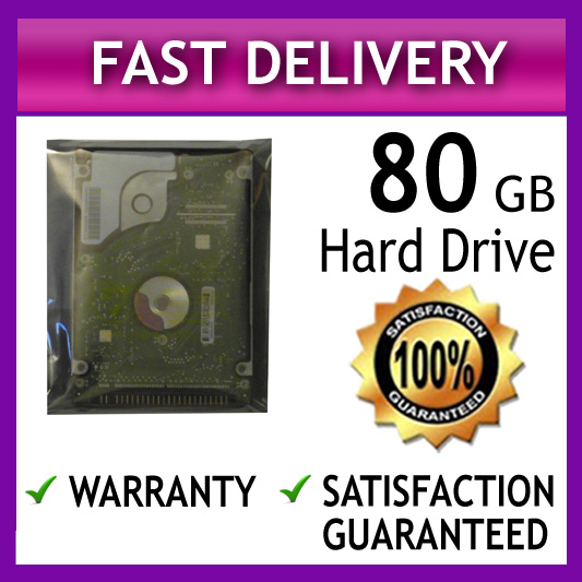80GB Acer Aspire 3003LCi 9100 1414WLCi 7100 1600 7104WSMi Laptop Hard Drive